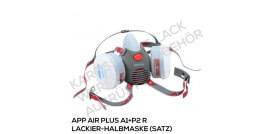 APP AIR Plus Lackier-Halbmaske A1+P2 R