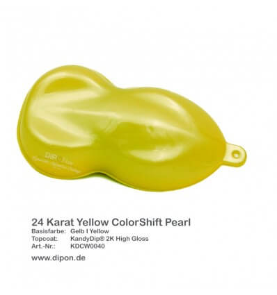 KandyDip® 24 Karat Yellow ColorShift Pearl