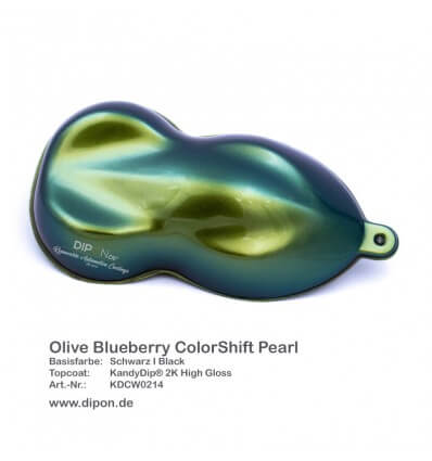 KandyDip® Olive Blueberry Colorshift Pearl