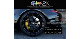 KandyDip® 2K Top Coat Felgen Set 0,25 L inkl. Preval Sprayer