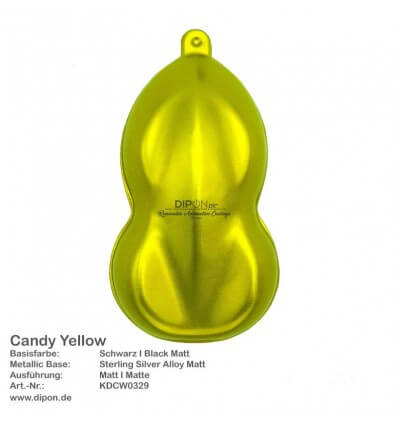 KandyDip® Candy Yellow