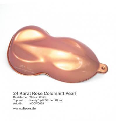 KandyDip® 24 Karat Rose Colorshift Pearl