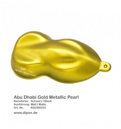 KandyDip® Abu Dhabi Gold Metallic Pearl