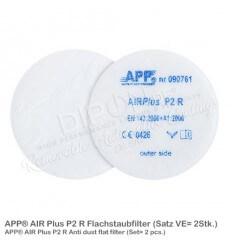 APP AIR Plus P2 R Flachstaubfilter 2 Stk.
