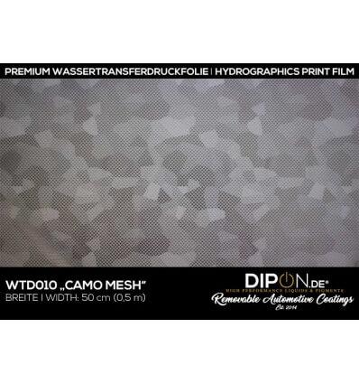 Camo Mesh Wassertransferdruckfolie 50cm