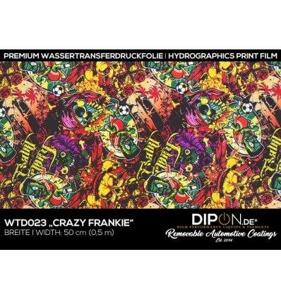 Crazy Frankie Wassertransferdruckfolie 50cm