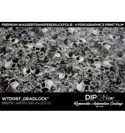Deadlock Wassertransferdruckfolie 100cm
