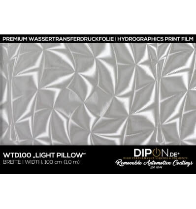 Light Pillow Wassertransferdruckfolie 100cm