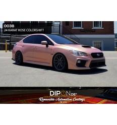 24 Karat Rose Colorshift Pearl Car Kit