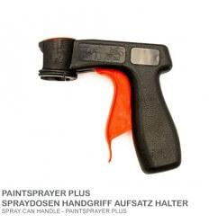 Spraydosen Adapter Handgriff PLUS