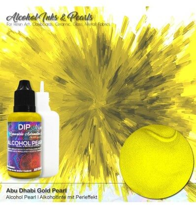 Abu Dhabi Gold Alcohol Pearl Ink