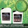 """EpoxyPlast 100 P """"24 Karat Green Pearl"""""""