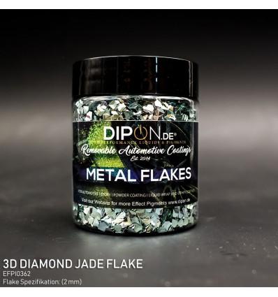 3D Diamond Jade Flake