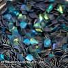 3D Diamond Night Blue Flake