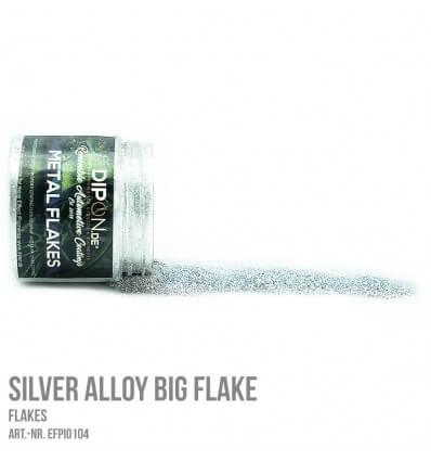 Silver Alloy XL Micro Flake