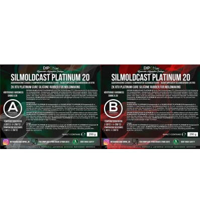 SILMOLDCAST PLATINUM 20 - 2K Dubliersilikon Abformsilikon