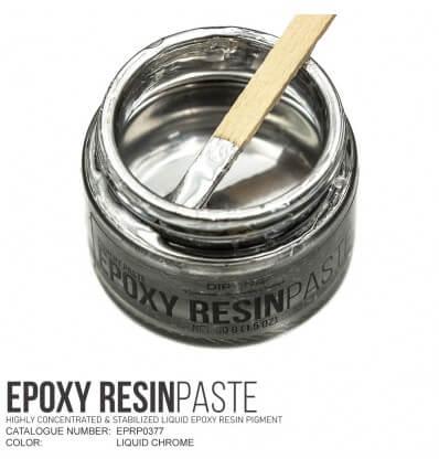Liquid Chrome Epoxy Resin Pigment Paste