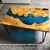 """EpoxyPlast 100 P """"Gulf Blue Pearl"""" Kit"""