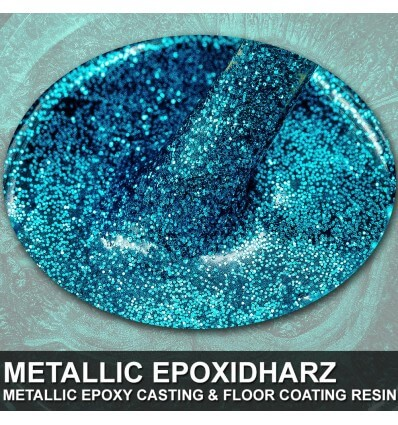 "EpoxyPlast 100 P ""Pacific Blue Micro Flake"" Kit"