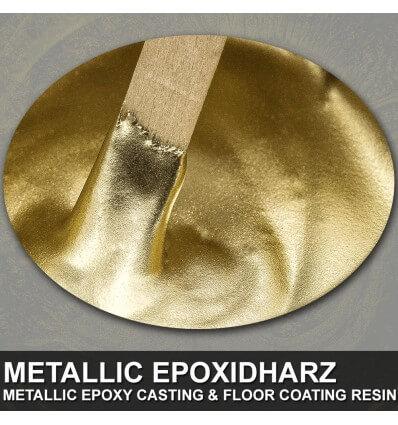 """EpoxyPlast 100 P """"True Aluminium Gold"""" Kit"""