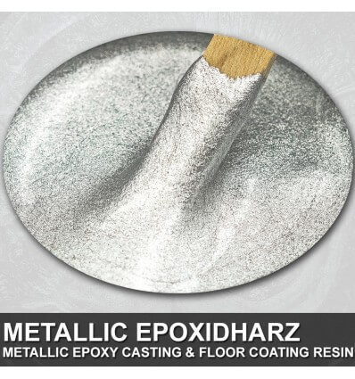 "EpoxyPlast 100 P ""Sterling Silver Alloy Pearl"" Kit"