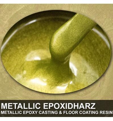 "EpoxyPlast 100 P ""Olive Honey Pearl"" Kit"