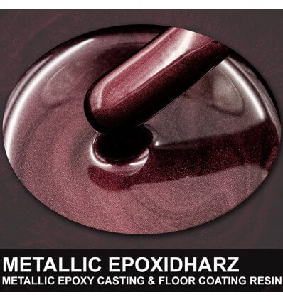"EpoxyPlast 100 P ""Nebula Red Pearl"" Kit"