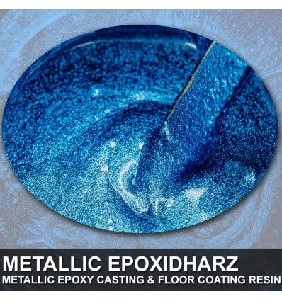 "EpoxyPlast 100 P ""Carbon Blue Pearl"" Kit"