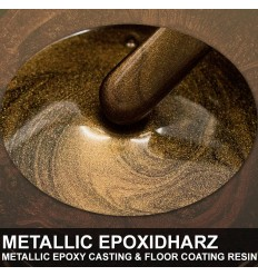 "EpoxyPlast 100 P ""Bronze Brown Metallic Pearl"" Kit"