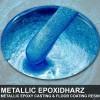 """EpoxyPlast 100 P """"Frozen Blue Pearl"""" Kit"""