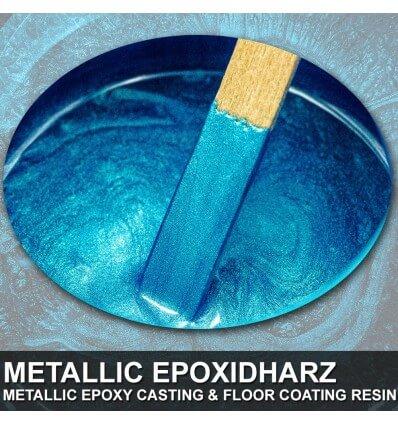 "EpoxyPlast 100 P ""24 Karat Blue Colorshift Pearl"" Kit"