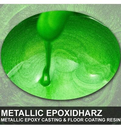 """EpoxyPlast 100 P """"Iguana Green Pearl"""" Kit"""