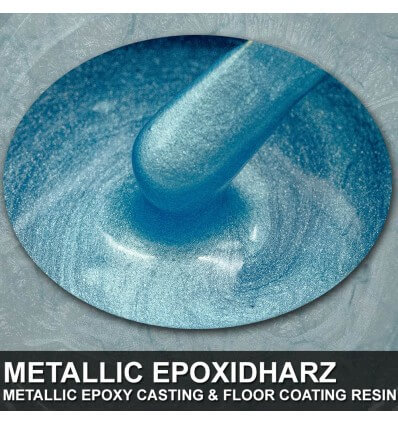 "EpoxyPlast 100 P ""Blizzard Blue Pearl"" Kit"