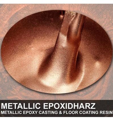 """EpoxyPlast 100 P """"True Copper Metal Pearl"""" Kit"""