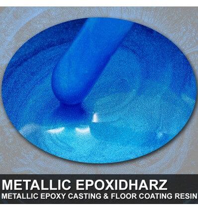 "EpoxyPlast 100 P ""Deep Lapiz Blue Pearl"" Kit"