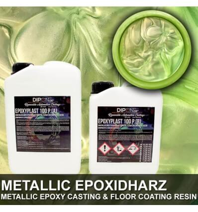 "EpoxyPlast 100 P ""Pale Green Pearl"" Kit"