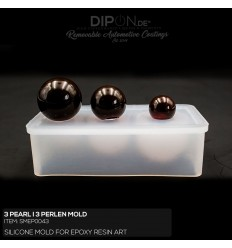 3 Pearl I 3 Perlen Mold / Silikonform