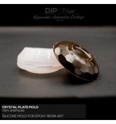 Crystal Plate Mold / Silikonform