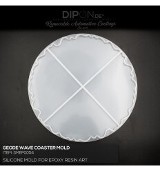 Geode Wave Coaster Mold / Silikonform