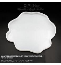 Geode Irregular Coaster SIZE L Mold / Silikonform