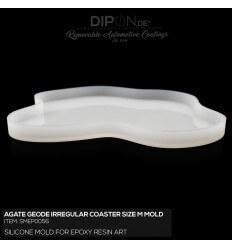 Geode Irregular Coaster SIZE M Mold / Silikonform