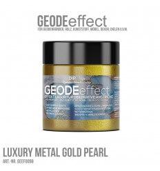 "GeodeEffect Acryl Dekorlasur ""Luxury Metal Gold Pearl"" 80ml"