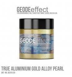"GeodeEffect Acryl Dekorlasur ""True Aluminium Gold Pearl"" 80ml"