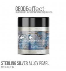 "GeodeEffect Acryl Dekorlasur ""Sterling Silver Alloy"" 80ml"