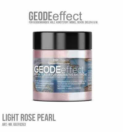 "GeodeEffect Acryl Dekorlasur ""Light Rose Pearl"" 80ml"