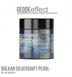 "GeodeEffect Acryl Dekorlasur ""Balkan Silvershift Pearl"" 80ml"