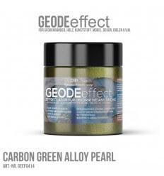 "GeodeEffect Acryl Dekorlasur ""Carbon Green Alloy Pearl"" 80ml"