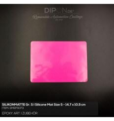Silikonmatte Größe S Pink I Silicone mat Size S