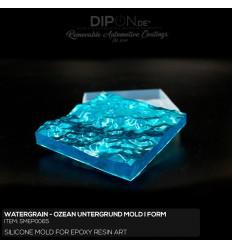Watergrain - Ozeanuntergrund Mold / Silikonform