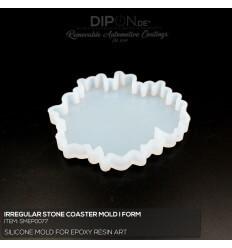 Irregular Stone Coaster Mold / Silikonform